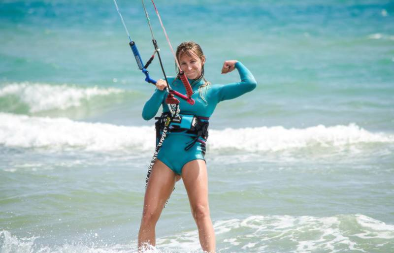 kite girls donne ragazze kitesurf