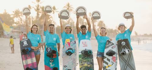 Gran finale del world kiteboarding league 2017